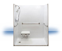 Walk in shower in Phoenix by Independent Home Products, LLC